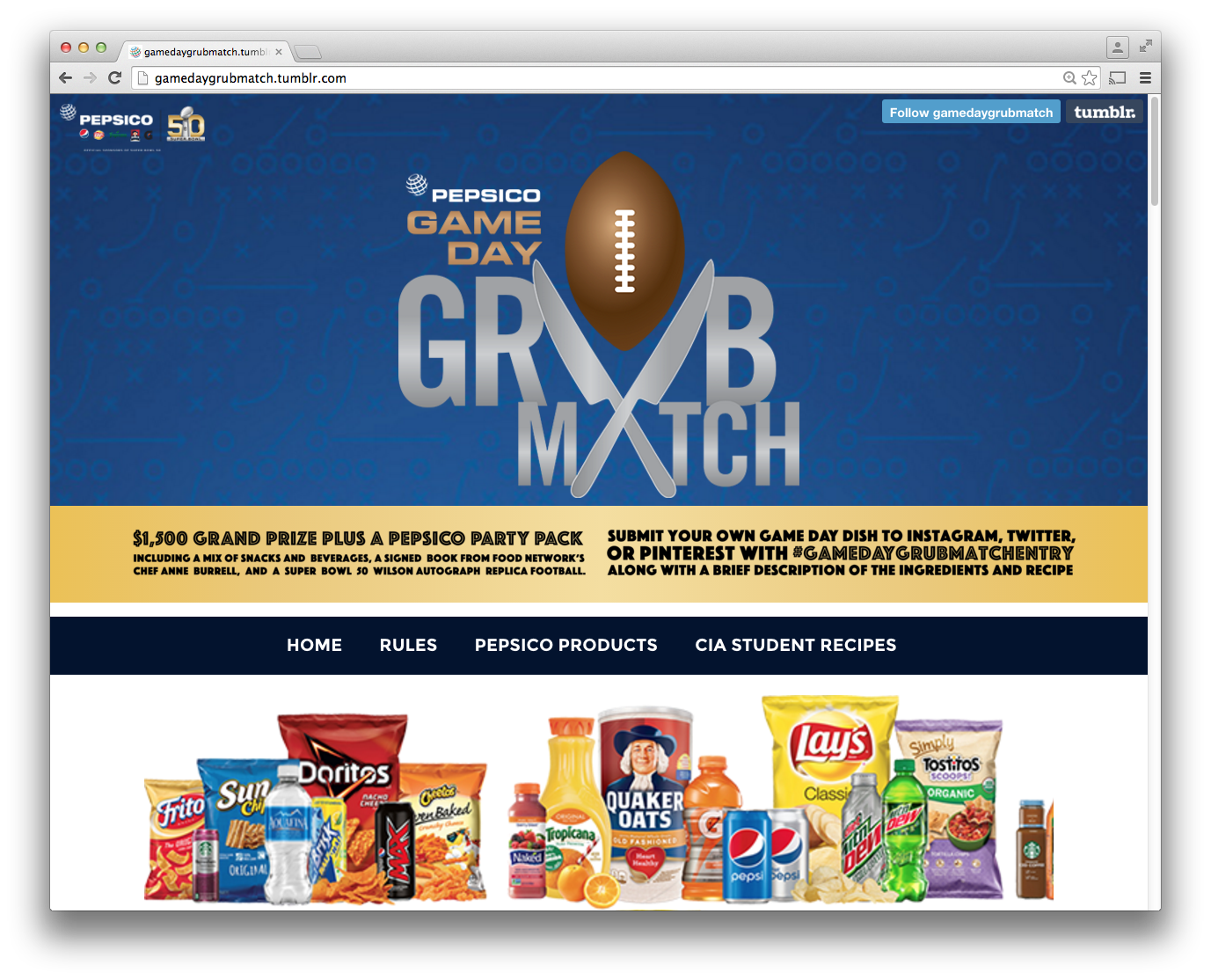 Pepsi_GrubMatch_site